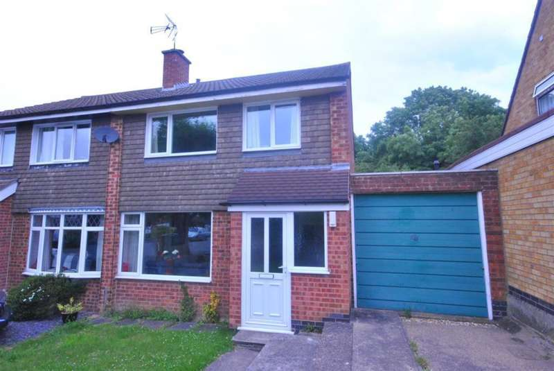 3 Bedrooms Semi Detached House for sale in Pope Crescent, Enderby, LE19 4QT