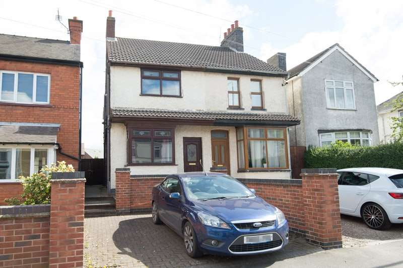 3 Bedrooms Semi Detached House for sale in Whitehill road, Ellistown Coalville, Leicestershire, LE67