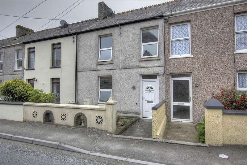 3 Bedrooms Terraced House for sale in Central Treviscoe, St. Austell, Cornwall, PL26 7QS