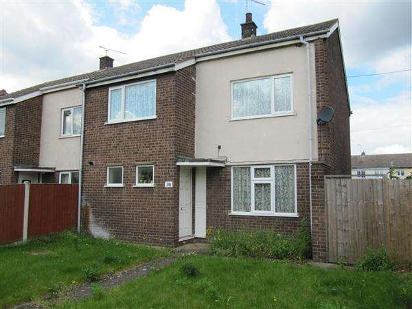 3 Bedrooms Semi Detached House for sale in Stuart Avenue, Boughton