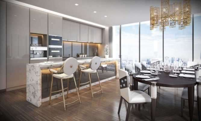 5 Bedrooms Apartment Flat for sale in AYKON London One, Bondway, Nine Elms