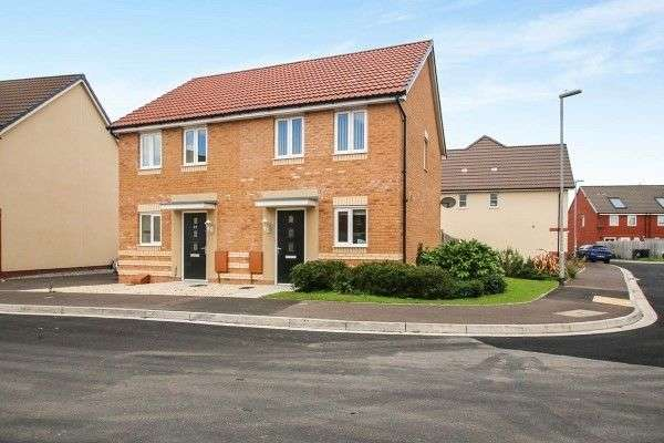 2 Bedrooms Semi Detached House for sale in Royal Drive, Bridgwater, TA6