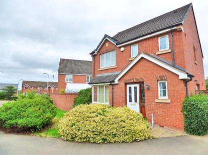 3 Bedrooms Detached House for sale in Cavendish Close, Cawston, Rugby