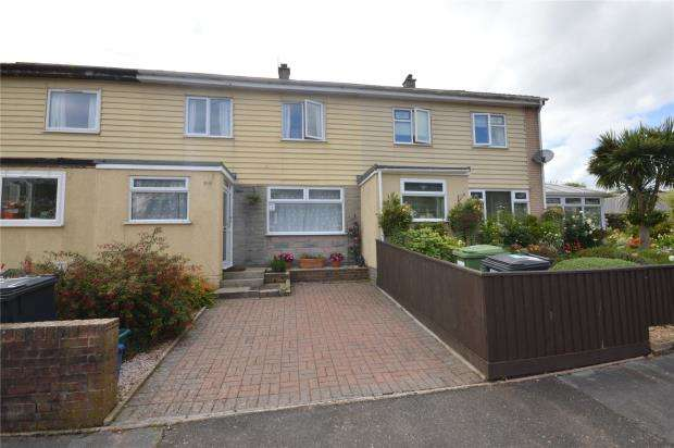 3 Bedrooms Terraced House for sale in Hopes Close, Teignmouth, Devon