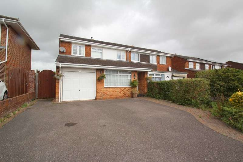 3 Bedrooms Semi Detached House for sale in High Mead, Fareham