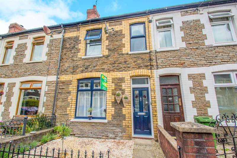 3 Bedrooms Terraced House for sale in Moy Road, Taffs Well, Cardiff