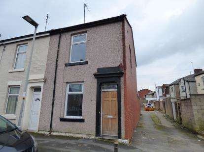 2 Bedrooms End Of Terrace House for sale in Slater Street, Mill Hill, Blackburn, Lancashire, BB2