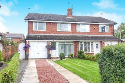 3 Bedrooms Semi Detached House for sale in Bateman Road, Lostock Gralam, Northwich, Cheshire