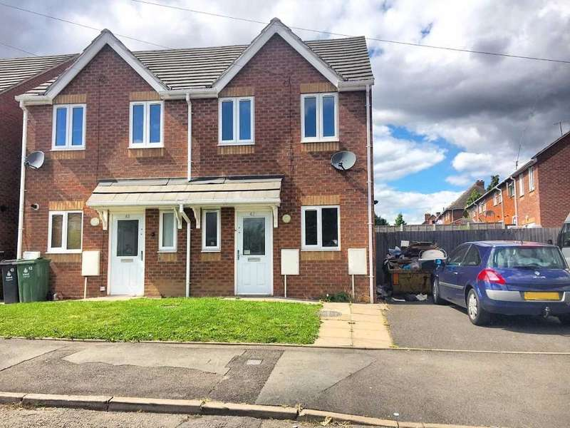 3 Bedrooms Semi Detached House for sale in MILL STREET, WALSALL, WEST MIDLANDS, WS2 8AN
