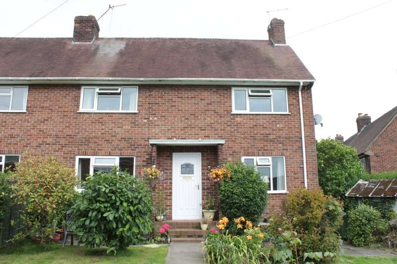 3 Bedrooms Semi Detached House for sale in Dalelands West, Market Drayton, Shropshire, TF9