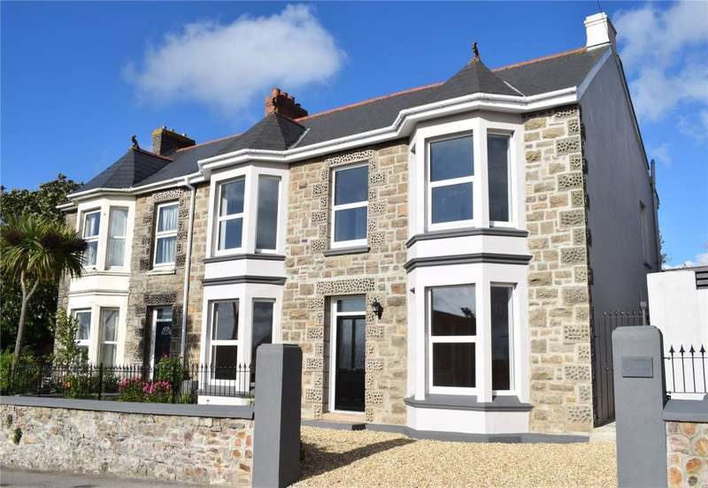 4 Bedrooms Semi Detached House for sale in Pednandrea, Redruth, Cornwall