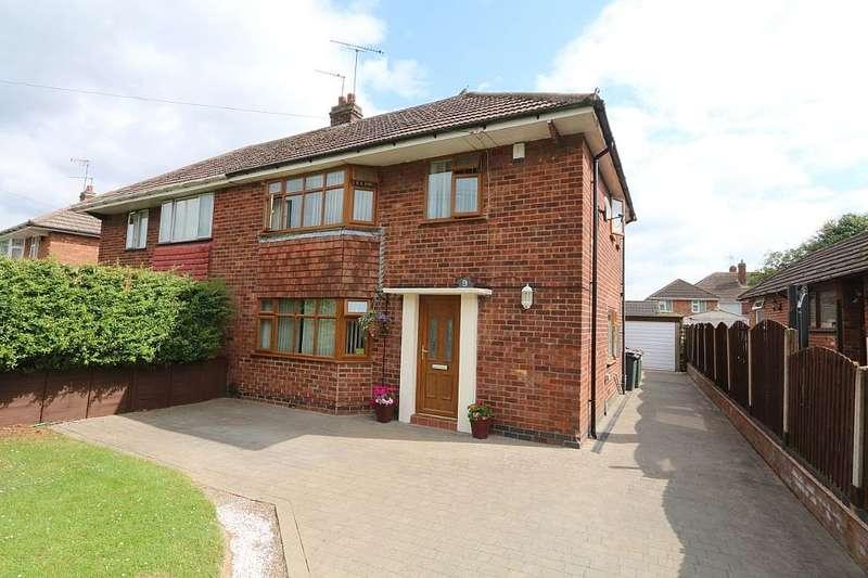 3 Bedrooms Semi Detached House for sale in Nuneaton Road, Bulkington, Bedworth, Warwickshire, CV12 9QP