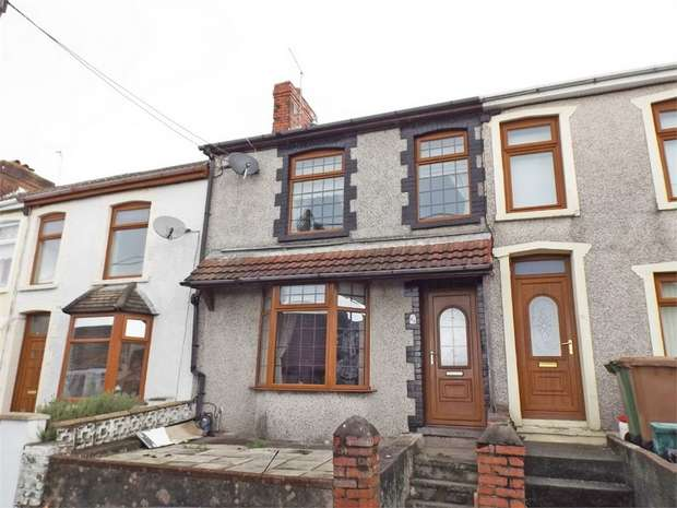 2 Bedrooms Terraced House for sale in Bedwellty Road, Aberbargoed, Bargoed, Caerphilly