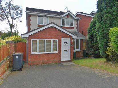 3 Bedrooms Detached House for sale in Fairoak Road, Newcastle, Staffordshire