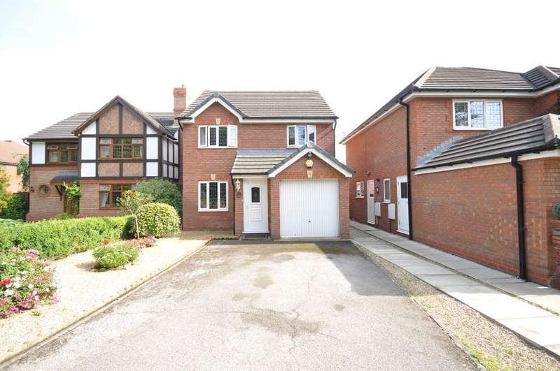 3 Bedrooms Detached House for sale in Harbour Lane, Warton, Preston, Lancashire, PR4 1YA