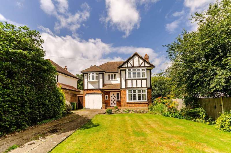 4 Bedrooms Detached House for sale in Edenfield Gardens, Worcester Park, KT4