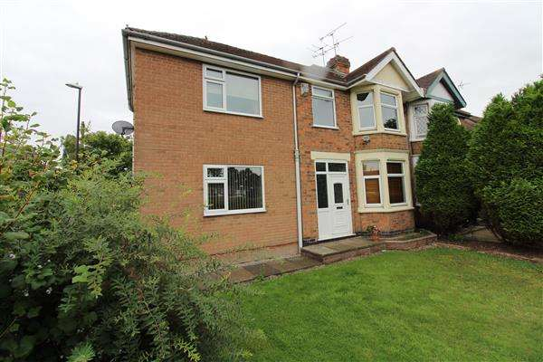 3 Bedrooms Semi Detached House for sale in Tonbridge Road, Whitley, Coventry