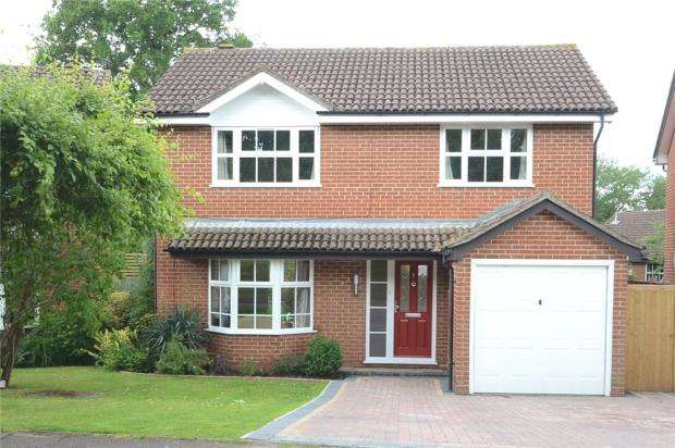 4 Bedrooms Detached House for sale in Laurel Close, Wokingham, Berkshire