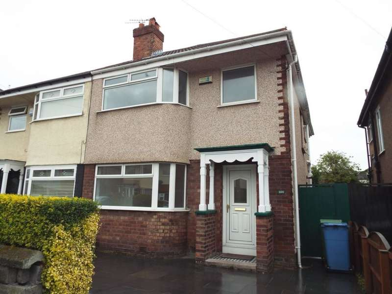 3 Bedrooms Semi Detached House for rent in Pitville Avenue, Liverpool, L18