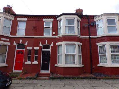 3 Bedrooms Terraced House for sale in Ashbourne Road, Liverpool, Merseyside, L17