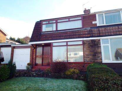 3 Bedrooms Semi Detached House for sale in Thirkeld Place, Houghton Le Spring, Tyne and Wear, DH4