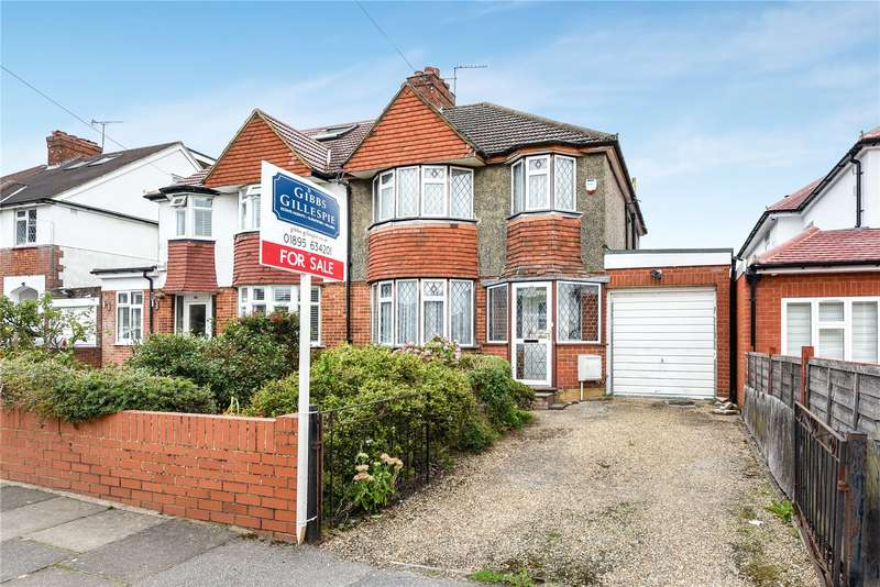 3 Bedrooms Semi Detached House for sale in Windermere Avenue, Eastcote, Middlesex, HA4