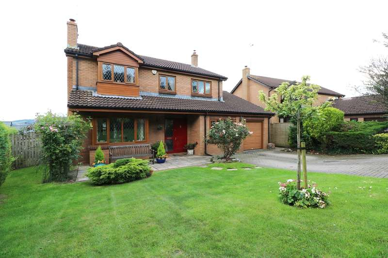 4 Bedrooms Detached House for sale in Barnfield Close, Llangybi, Usk, NP15