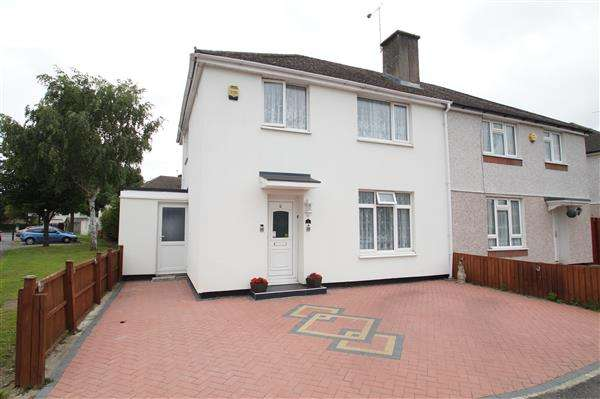 3 Bedrooms Semi Detached House for sale in West Point, Cippenham, Slough