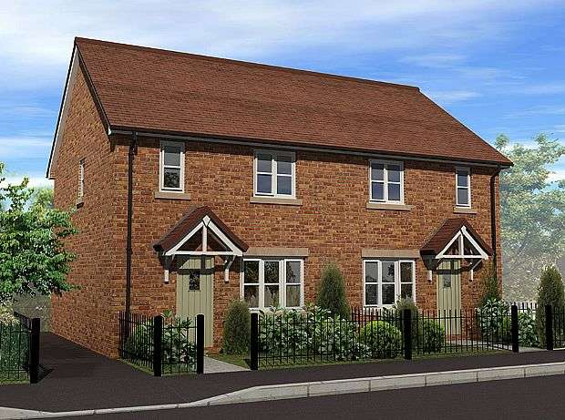 3 Bedrooms Semi Detached House for sale in Irvine Gardens, St Martins, Shropshire