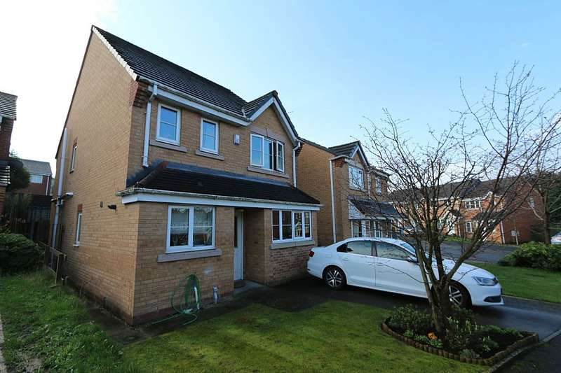4 Bedrooms Detached House for sale in Penwell Fold, Oldham, Greater Manchester, OL1 2UB