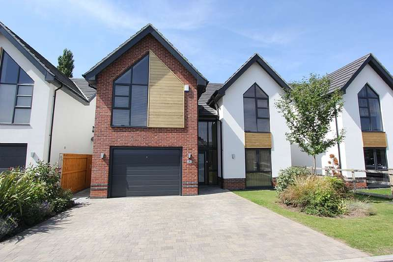 4 Bedrooms Detached House for sale in Riverside View, Warsop, Mansfield, Nottinghamshire, NG20 0FF