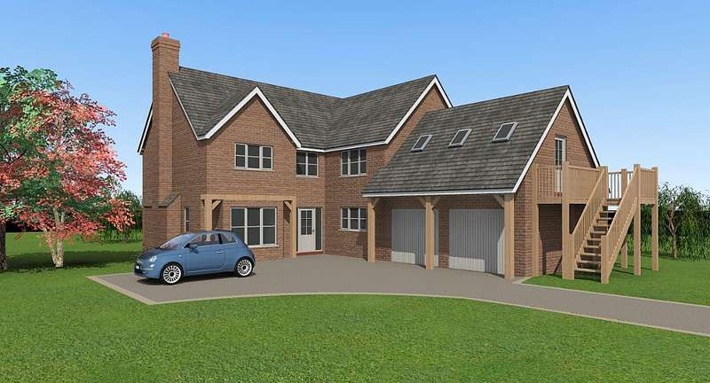 5 Bedrooms Detached House for sale in Plot 1, Shaw Park, Weston Lane, Oswestry, Shropshire, SY11 2BB