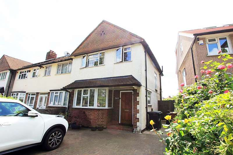3 Bedrooms End Of Terrace House for sale in Verdant Lane, London, London, SE6 1TW