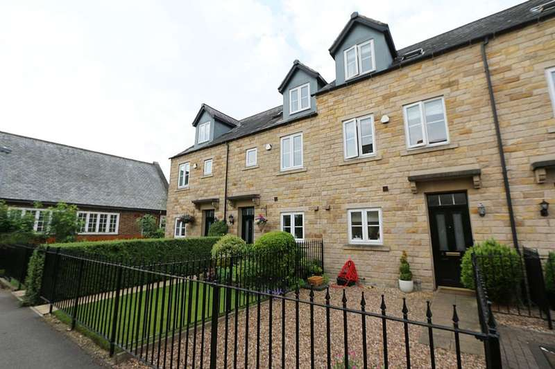 3 Bedrooms Mews House for sale in 4, Richard Gossop Court, Burley in Wharfedale, Ilkley, West Yorkshire, LS29 7SN