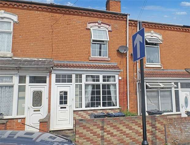 2 Bedrooms Terraced House for sale in Nansen Road, Sparkhill, Birmingham, West Midlands