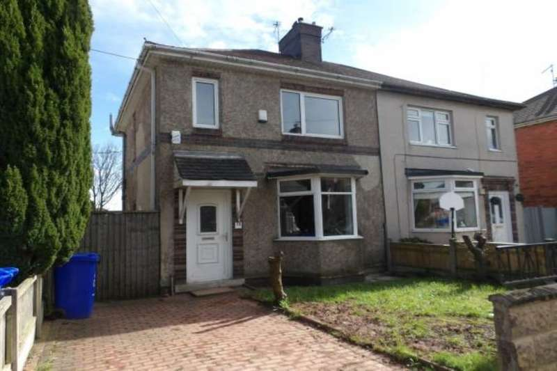 2 Bedrooms Semi Detached House for sale in Bird Road, Meir, Stoke-On-Trent, ST3