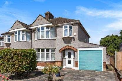 3 Bedrooms Semi Detached House for sale in Boleyn Gardens, West Wickham