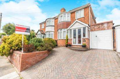 3 Bedrooms Semi Detached House for sale in Mildenhall Road, Great Barr, Birmingham, West Midlands