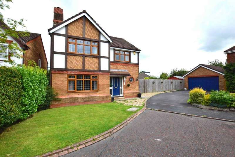 4 Bedrooms Detached House for sale in Oxley Close, Kirkham