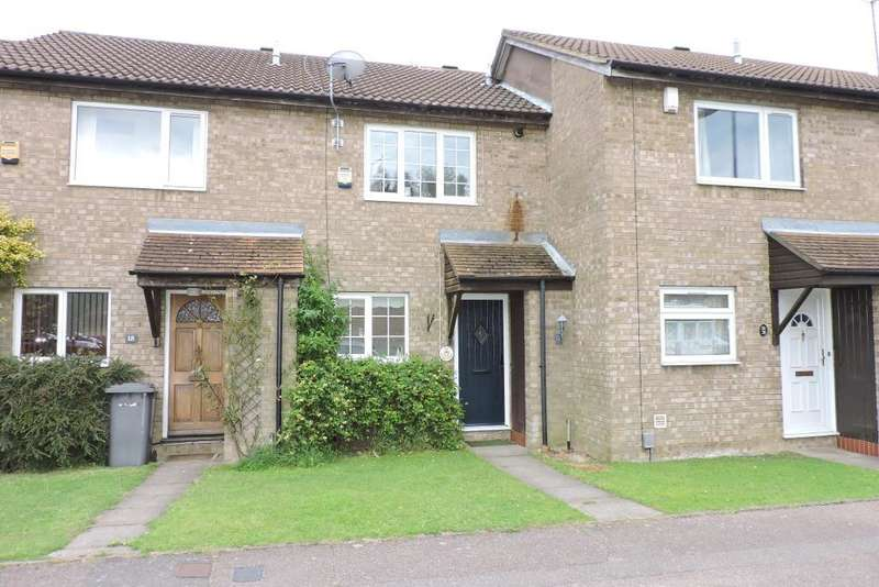 2 Bedrooms Terraced House for sale in Repton Close, Luton, Bedfordshire, LU3 3UL