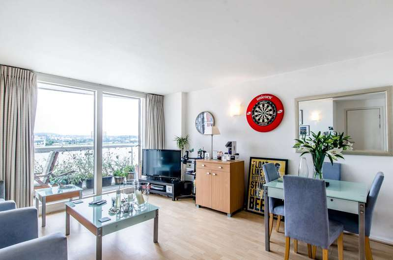 1 Bedroom Flat for sale in Aurora Building, Canary Wharf, E14