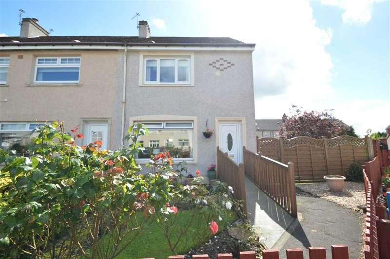 2 Bedrooms End Of Terrace House for sale in Crofthead Place, Bellshill