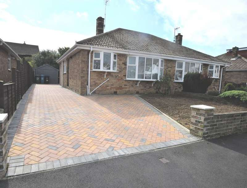 2 Bedrooms Semi Detached Bungalow for sale in Sea View Crescent, Scarborough, North Yorkshire YO11 3JE