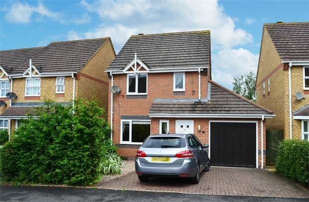 3 Bedrooms Detached House for sale in Rebekah Gardens, Droitwich, Worcestershire
