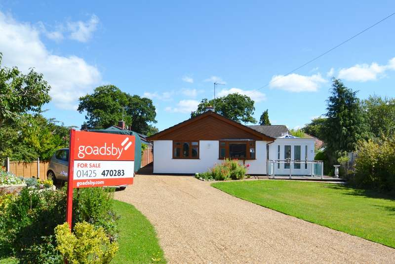 3 Bedrooms Detached Bungalow for sale in St Leonards