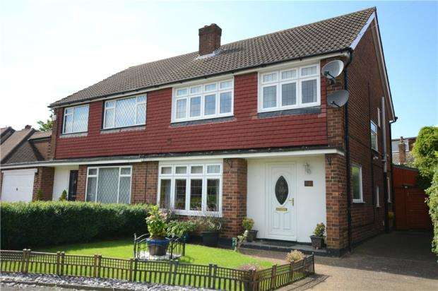 3 Bedrooms Semi Detached House for sale in Craig Drive, Uxbridge