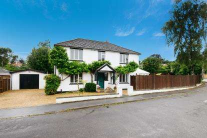 4 Bedrooms Detached House for sale in Chandler's Ford, Eastleigh, Hampshire