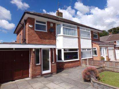 3 Bedrooms Semi Detached House for sale in Oakhurst Close, Woolton, Liverpool, Merseyside, L25