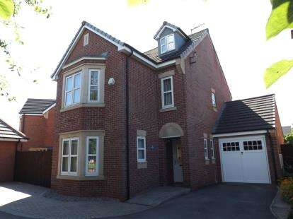 5 Bedrooms Detached House for sale in Hydrangea Way, St. Helens, Merseyside, WA9