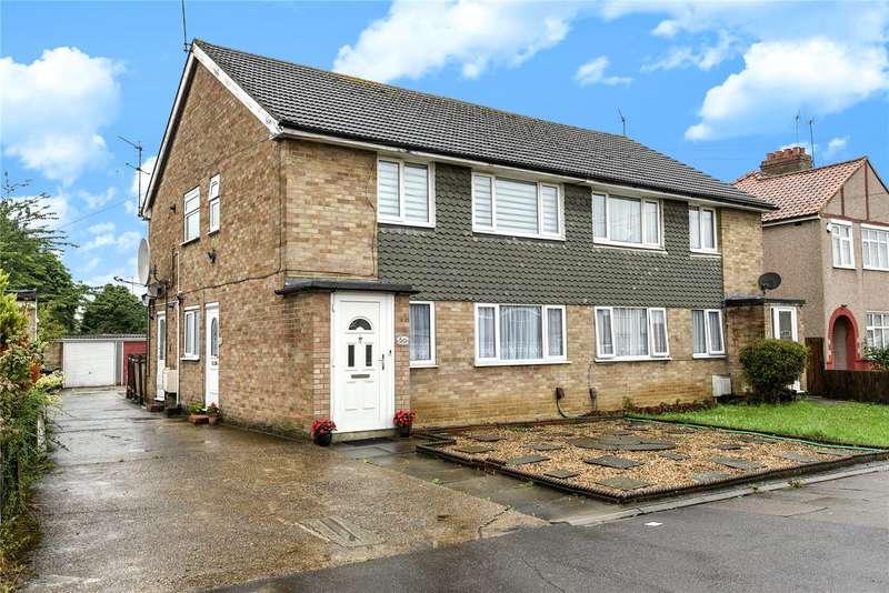 2 Bedrooms Maisonette Flat for sale in Rosebery Avenue, Harrow, Middlesex, HA2